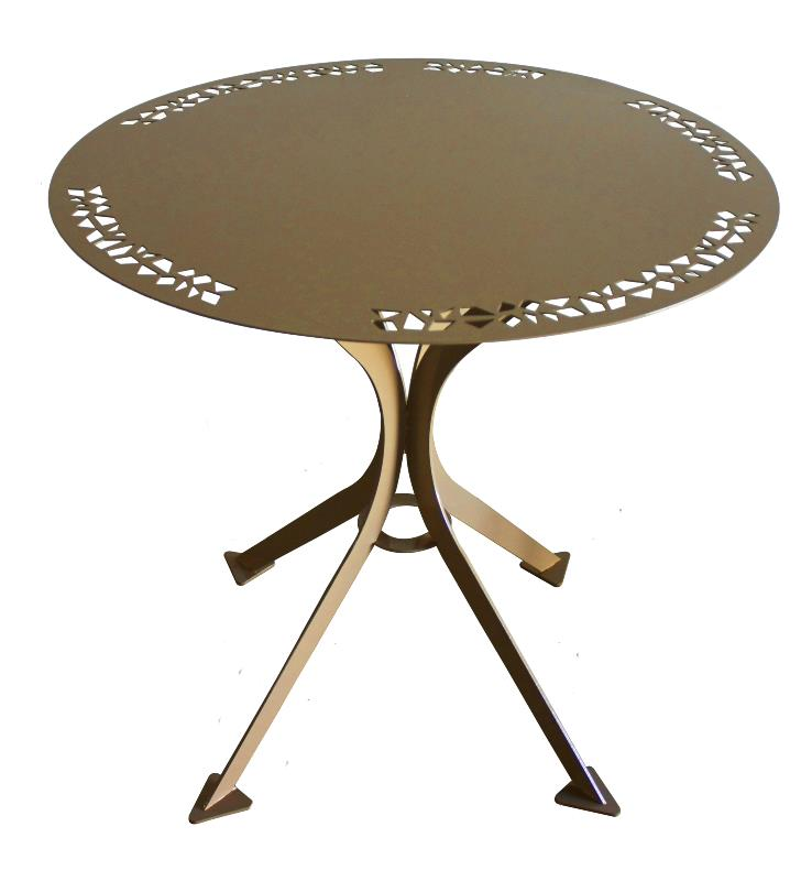 Table de jardin m tal meuble m tal for Peinture table de jardin metal