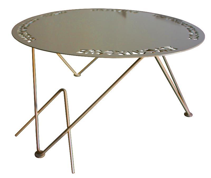 table basse design mobilier m tal. Black Bedroom Furniture Sets. Home Design Ideas