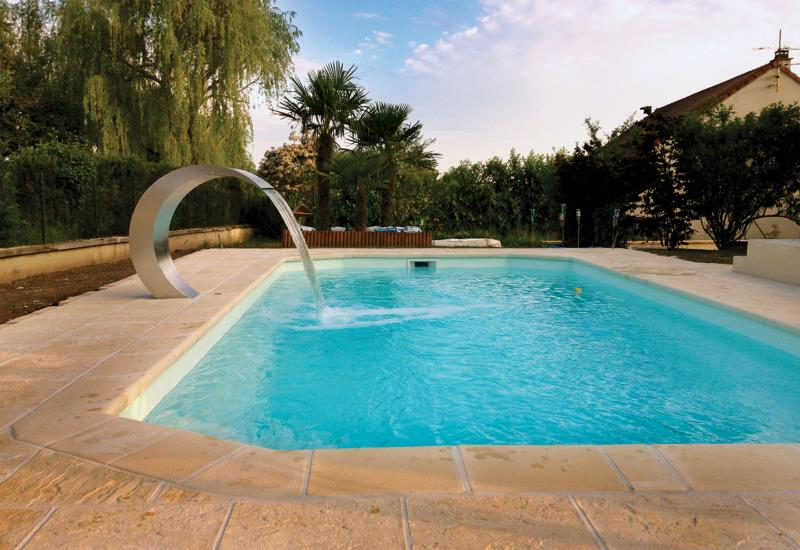 cascade fontaine pour piscine et bassin. Black Bedroom Furniture Sets. Home Design Ideas