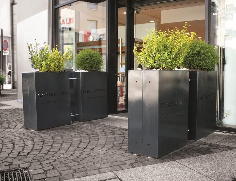 jardiniere de separation mobilier urbain. Black Bedroom Furniture Sets. Home Design Ideas